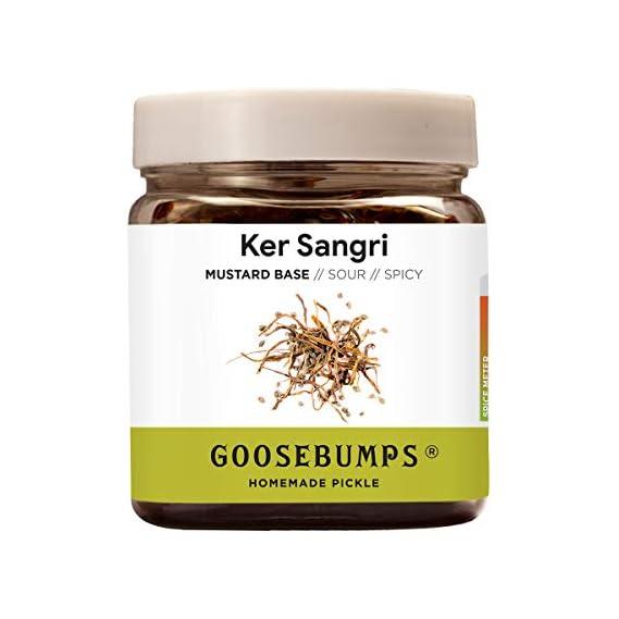Goosebumps Homemade Ker Sangri Pickle, 250g