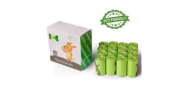 Paquete de 16 Bolsas biodegradables para residuos de Mascotas ...