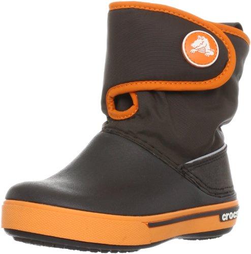 crocs Unisex-Kinder Crocband Ii.5 Gust Boot Schneestiefel Braun (Espresso/Orange)