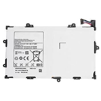 SP397281A SP397281P Batería del Ordenador Portátil para Samsung Galaxy Tab 7.7 GT-P6800 GT-P6810 SCH-I815(3.7V 18.87Wh 5100mAh): Amazon.es: Electrónica