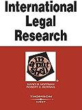 International Legal Research in a Nutshell