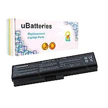UBatteries Laptop Battery Toshiba Satellite A660 A665 L510 L515 M500 M505 M640 M645 P740 P740D P745 P745D P750 P750D P755 P755D P770 P770D P775 T110 T115 T115D T130 T135 U500 U505 - 5200mAh, 6 Cell