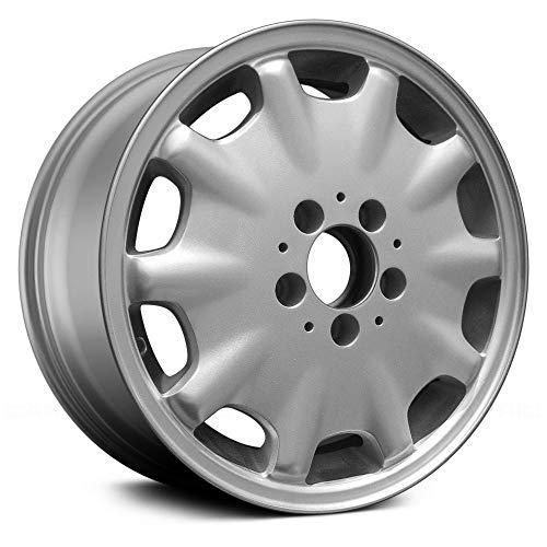 Replacement 10 Holes Silver Factory Alloy Wheel Fits Mercedes E300 / E320 / E430 (Best Tires For Mercedes E320)