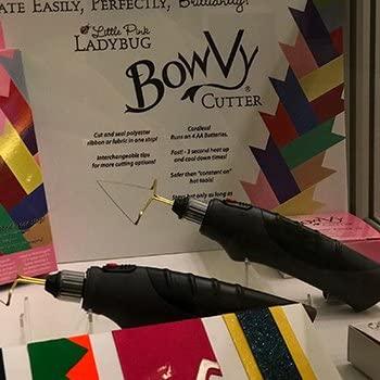 Ribbon hot Wire Cutter Free UK Post BowVy Cutter cuts /& Seals Most Ribbon