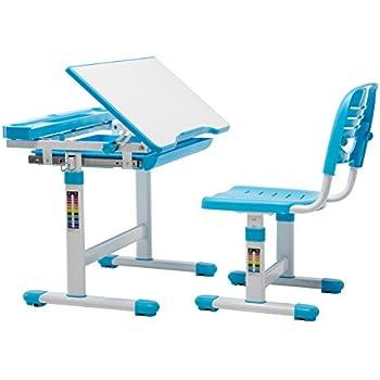 Amazon Com Vivo Height Adjustable Children S Desk And