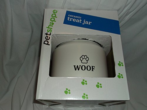 Pet Shoppe Ceramic Treat Jar - Jar Treat Ceramic