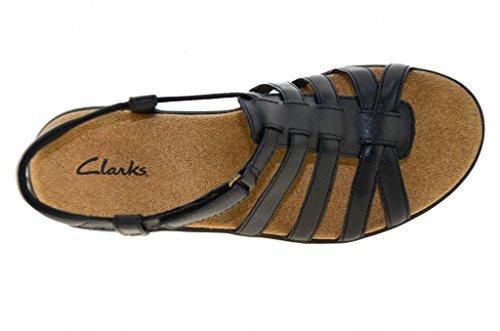 Sandals Womens Clarks Black Roza Gulf rYYwdqt