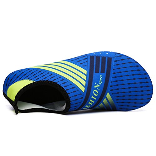 Corta Agua Las Mujeres Azul Zapatos Calcetines Yoga Verano Playa de Zapatos zqtgxqrR