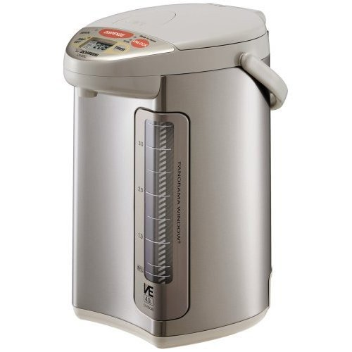 Zojirushi CV-DSC40 VE Hybrid Water Boiler and Warmer, Stainless Steel image
