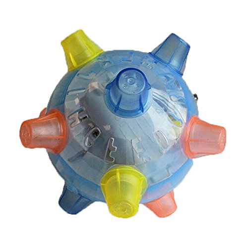 Jumping Joggle Bopper. Sound Sensitive Vibrating Powered Ball Game by The Discovery Store ()