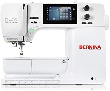 Bernina 475 Quilters Edition - Máquina de coser (Serie 4): Amazon ...