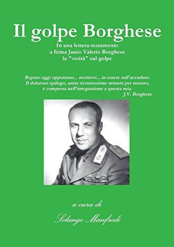 II Golpe Borghese by A Cura Di Solange Manfredi (2014-12-01)