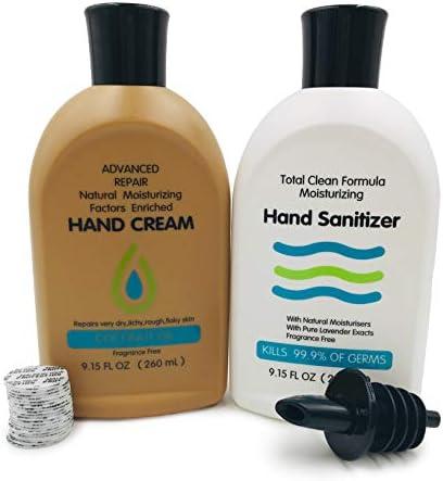 Premium Hidden Flask Set Sanitizer product image