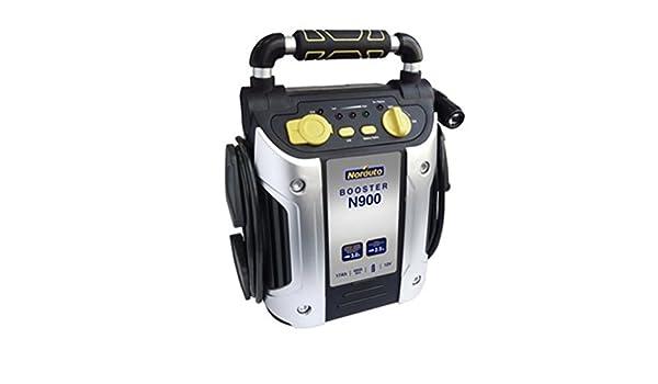 Booster con lámpara de emergencia norauto 17 Ah 12 V: Amazon ...