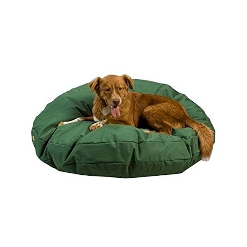 Snoozer Waterproof Rectangle Pet Bed, Large, Green, 36 by 54-Inch