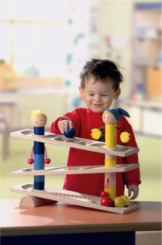 HABA First Wooden Ball Track Roll 'n Roll 'n Roll (Made in Germany) by HABA (Image #2)