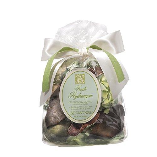 Aromatique 7.5 Oz Fresh Hydrangea Decorative Fragrance Potpourri Bag