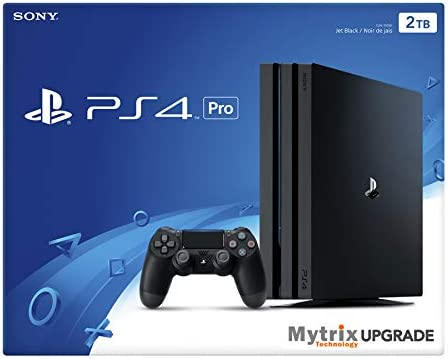 Playstation 4 Pro 2TB Gaming Console with DualShock 4 Wireless Controller Bundle, 4K HDR PS4 Pro 2TB Storage HDD Enhanced via Mytrix