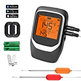 Best Bluetooth Meat Thermometers - COMLIFE Digital Meat Thermometer, Wireless Bluetooth BBQ Thermometer Review