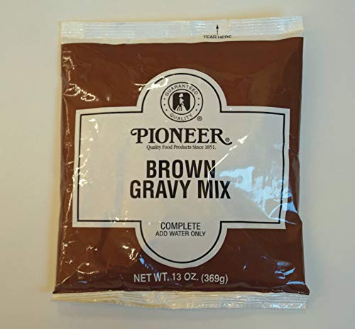 Pioneer Brown Gravy Mix, 13 Ounce -- 6 per case.