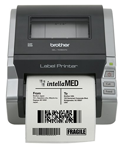 Brother Network Ready 4'' Wide Label Printer (QL-1060N) by Brother