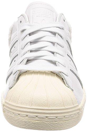 Chaussures Hommes Cristal 0 Superstar Gymnastique Adidas 80s Blanc cristal Pour Cass De Blanches Swr1qS