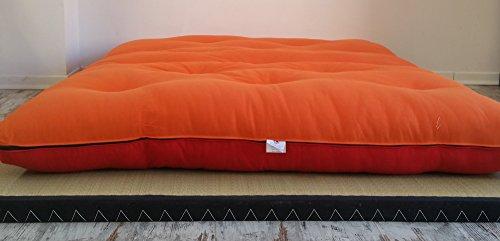 Futon Su Misura.Divano Letto Futon Double Face Base Tatami Colori Rosso