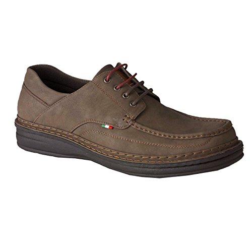 Marron Bpi C1pcawxqx Duke Homme Chaussures D555 Pour peritos Lacets RwRAT7f