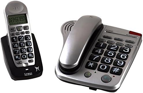 Lexibook DPC280ES - Teléfono DECT (con tecnología GAP, teclas grandes): Amazon.es: Electrónica
