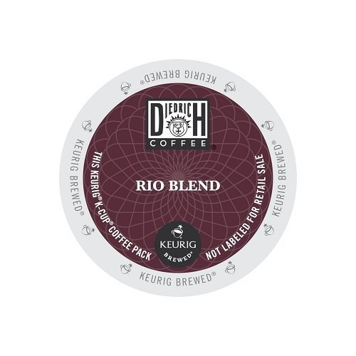 Diedrich Coffee Rio Blend, Single Serve Coffee K-Cups, 48-Count For Brewers