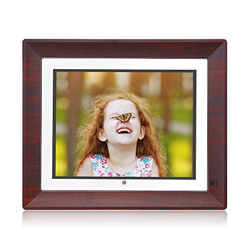 (BSIMB Digital Picture Frame Digital Photo Frame 9 Inch IPS Display 1067x800(4:3) Hi-Res Digital Photo & HD Video Frame with Motion Sensor USB/SD Card Playback Calendar Remote Control M09)