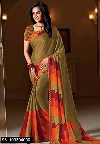 Crape Tradizionale Bollywood hochzet 2874 indiano Wear Saree Wedding Etnico Ladies Party Gonna EMPORIUM Women New ETHNIC Designer Designer Sari Blouse Dress Georgette qxFwt5gXfz