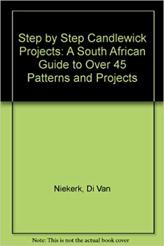Read online Step by Step Candlewick Projects: A South African Guide to Over 45 Patterns and Projects PDF, azw (Kindle), ePub