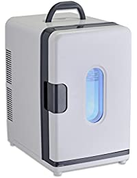 SL&BX Mini fridge portable student accommodation refriger small freezer cooler fridge white-White