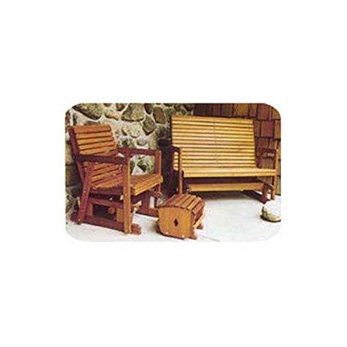 UPC 844788045293, Woodworking Project Paper Plan to Build Glider Bench and Chair