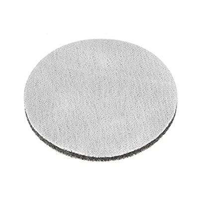 uxcell 5 Inch 800 Grit Drill Power Brush Tile Scrubber Scouring Pads Cleaning Tool 3pcs: Home Improvement