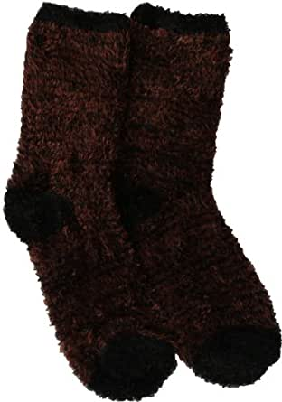 Foot Traffic Soft & Warm Microfiber Fuzzy Socks- Multiple Colors- One Size