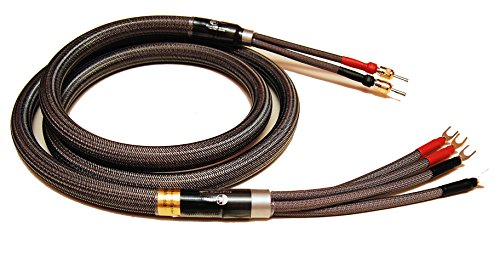 4m Studio Reference 99.999% Silver Speaker Cables Bi-wire Pair ()