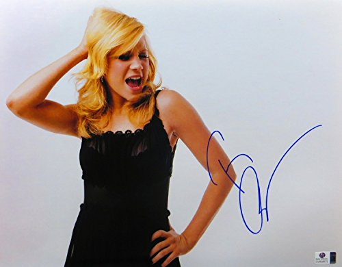 Brittany Snow Signed Autographed 11X14 Photo Sexy Gorgeous Black Dress GV809672