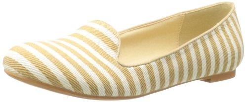 Wilde Schoenen Dames Eastham Instappers Loafer Naturel