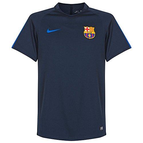 Nike Mens FC Barcelona Pre-Match Jersey-OBSIDIAN (S)