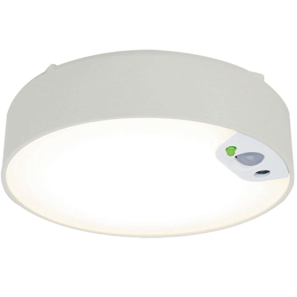 アイリスオーヤマ 薄型直付LEDライト 人感センサー付き