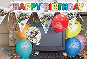 happy birthday cubicle decorating kit birthday office decorations