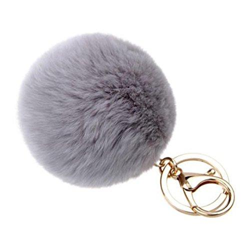 Discount SUPPION Furry Metal Pompom Ball