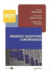 Grandes questions européennes