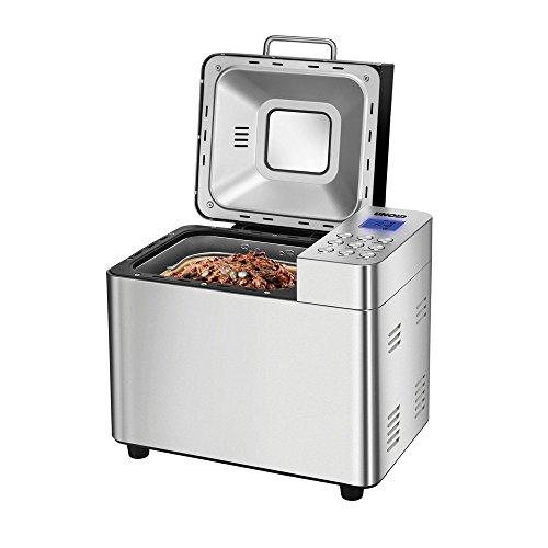UNOLD Brotbackautomat Backmeister Edel, 550 W, 750-1000 g Brotgewicht, Keramik-Beschichtung, 68456