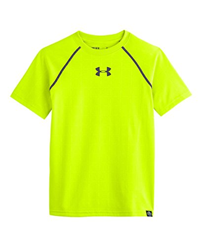 Under Armour Big Boys' NFL Combine Authentic Training T-Shirt Youth Large High-Vis Yellow