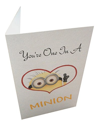 You're One In A Minion Greeting Card -