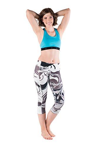 Skirt Sports Women's Pocketopia Capri, Persevere Print, X-Small
