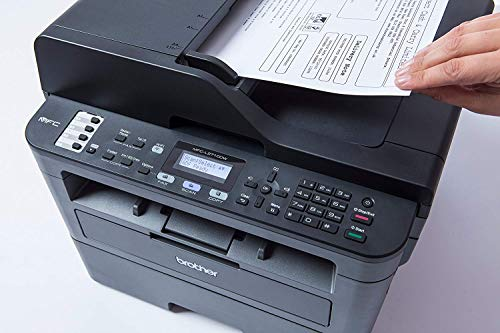 Brother MFCL2710DW - Impresora multifunción láser monocromo con fax e impresión dúplex (30 ppm, USB 2.0, Wifi, Ethernet, Wifi Direct, procesador de 600 MHz, memoria de 64 MB) gris 5